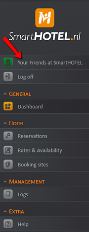 User Account SmartHOTEL